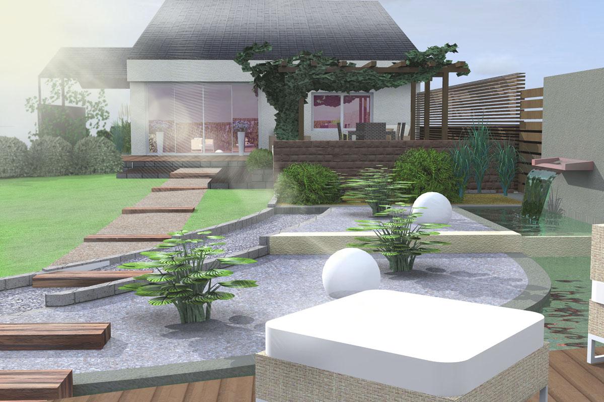 Ogród przydomowy Człuchów