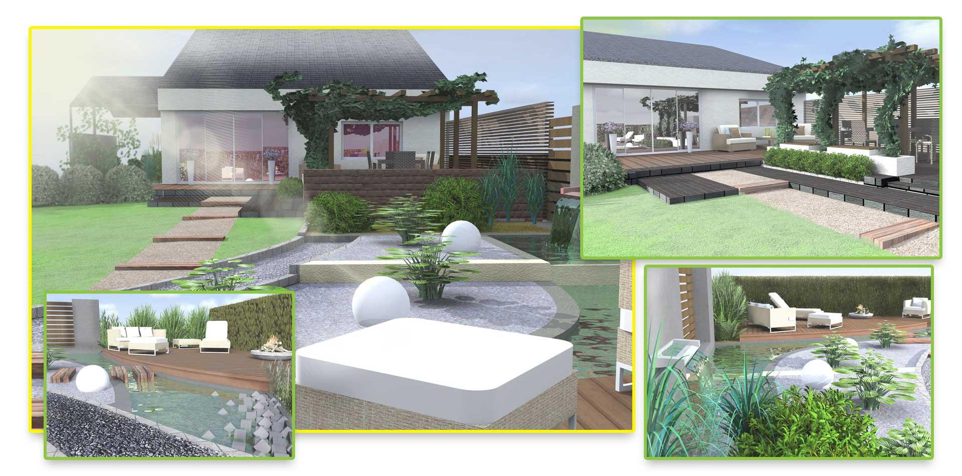 Projekt ogrodu Człuchów